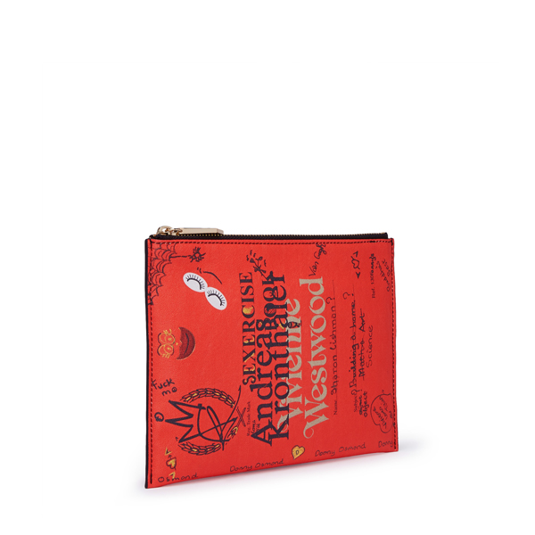 Women Vivienne Westwood SEXERCISE POUCH 131156 RED Outlet Online