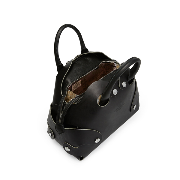 Women Vivienne Westwood FLINSTONE BAG 7365 BLACK Outlet Online