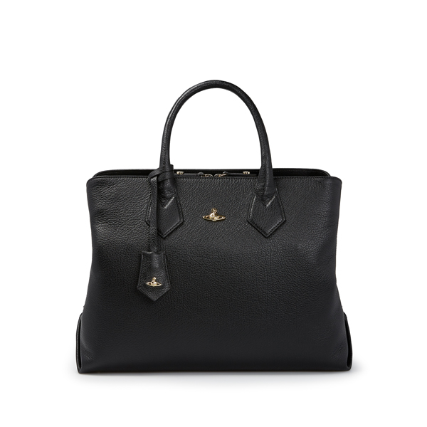 Women Vivienne Westwood BALMORAL SHOPPER 131114 BLACK Outlet Online
