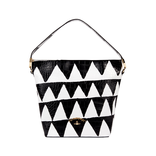 Women Vivienne Westwood BRISTOL BAG 7347 WHITE TRIANGLE Outlet Online