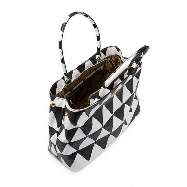 Women Vivienne Westwood BRISTOL BAG 7348 WHITE TRIANGLE Outlet Online