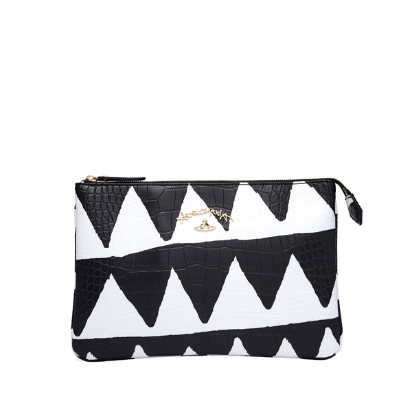 Women Vivienne Westwood BRISTOL BAG 7349 WHITE TRIANGLE Outlet Online