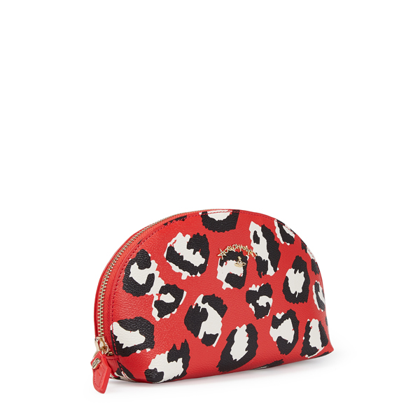 Women Vivienne Westwood LEICESTER MAKE-UP BAG 390007 RED Outlet Online