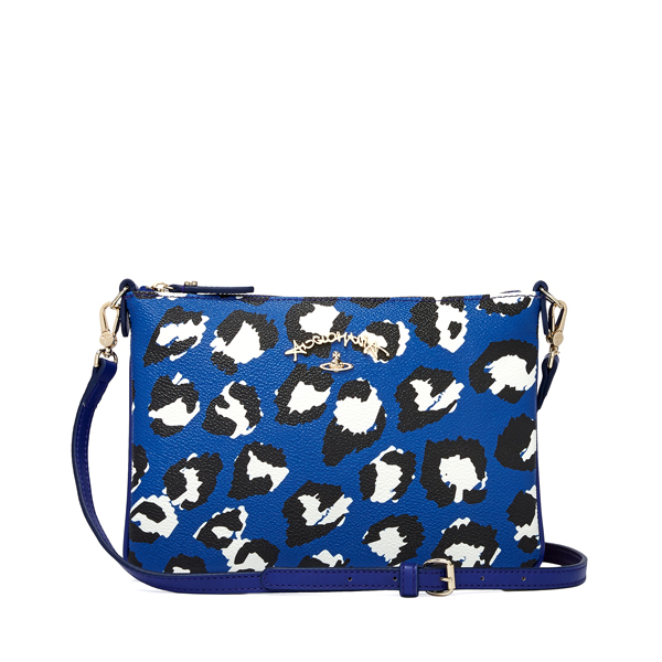 Women Vivienne Westwood LEICESTER CROSSBODY BAG 190005 BLUE Outlet Online