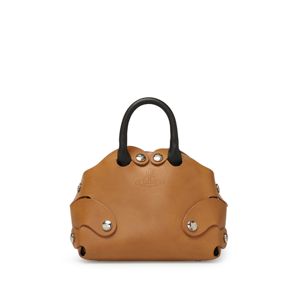 Women Vivienne Westwood FLINSTONE BAG 7366 TAN Outlet Online