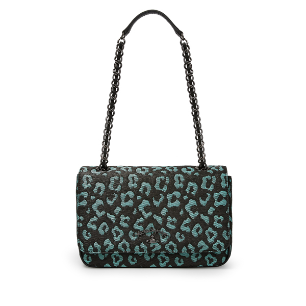 Women Vivienne Westwood AVON BAG 7403 TURQUOISE Outlet Online