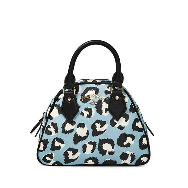 Women Vivienne Westwood LEICESTER YASMINE BAG 190004 LIGHT BLUE Outlet Online