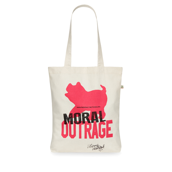 Women Vivienne Westwood MORAL OUTRAGE TOTE Outlet Online