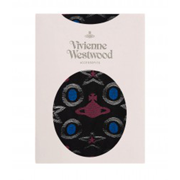 Women Vivienne Westwood STAR AND ORB STOCKINGS BLACK Outlet Online