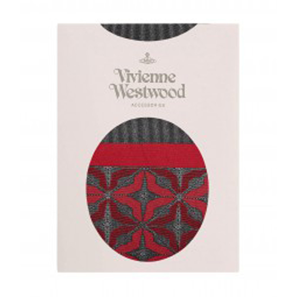 Women Vivienne Westwood RED MANHOLE TIGHTS Outlet Online