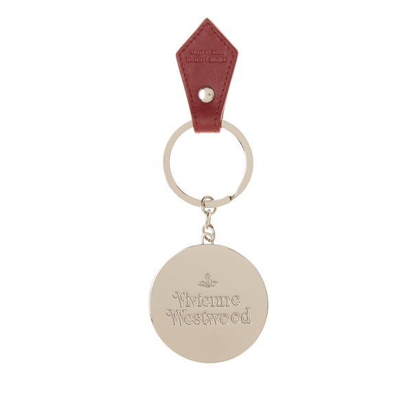 Women Vivienne Westwood HEART KEY RING 321496 RED Outlet Online