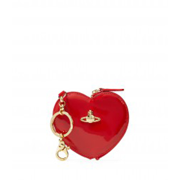 Women Vivienne Westwood HEART PURSE 7265 RED Outlet Online
