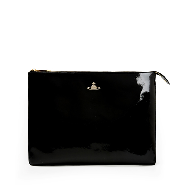 Women Vivienne Westwood MARGATE PURSE 6852 BLACK Outlet Online