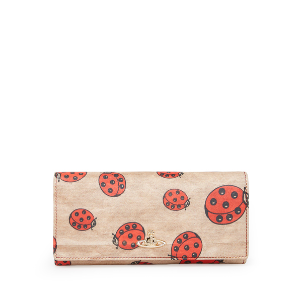 Women Vivienne Westwood HOLLAND PARK PURSE 321423 RED Outlet Online