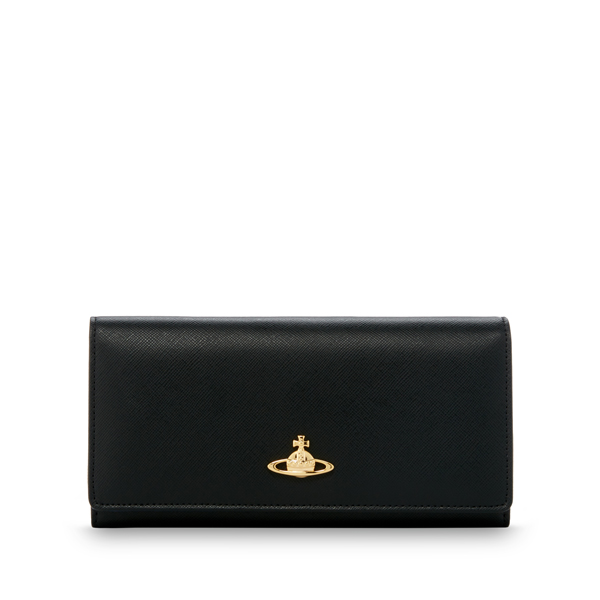 Women Vivienne Westwood BLACK SAFFIANO 2800 PURSE Outlet Online