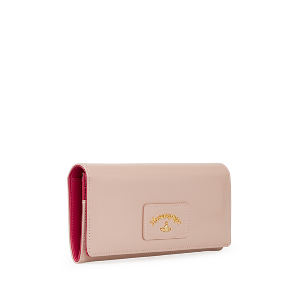 Women Vivienne Westwood NEWCASTLE PURSE 2800 ROSE Outlet Online