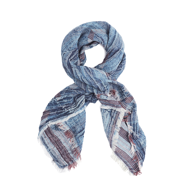 Women Vivienne Westwood I.U.! INTELLECTUAL UNITE RED COTTON SCARF Outlet Online
