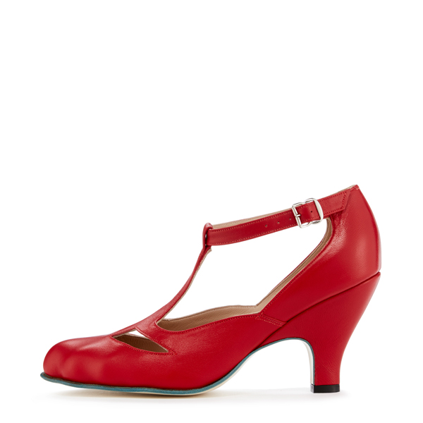 Women Vivienne Westwood RED T-BAR SHOES Outlet Online
