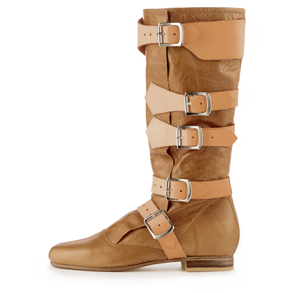 Women Vivienne Westwood PIRATE BOOT TAN Outlet Online