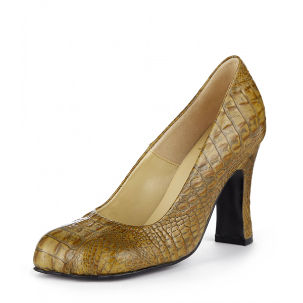 Women Vivienne Westwood ANIMAL TOE COURT BROWN Outlet Online