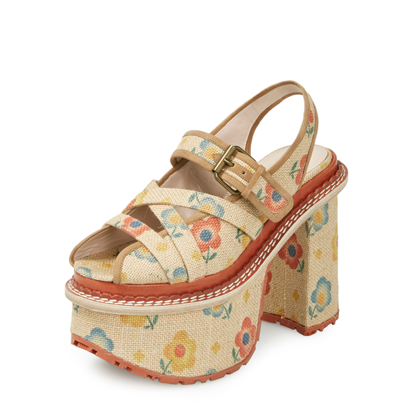 Women Vivienne Westwood SPLIT SANDALS LITTLE FLOWERS Outlet Online