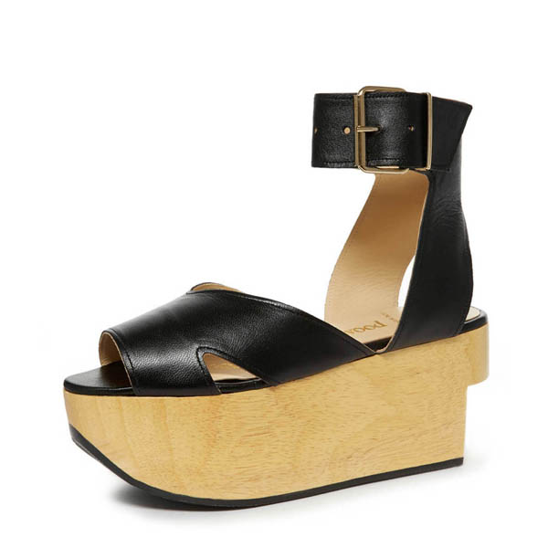 Women Vivienne Westwood ROCKING HORSE SLAVE KID BLACK Outlet Online