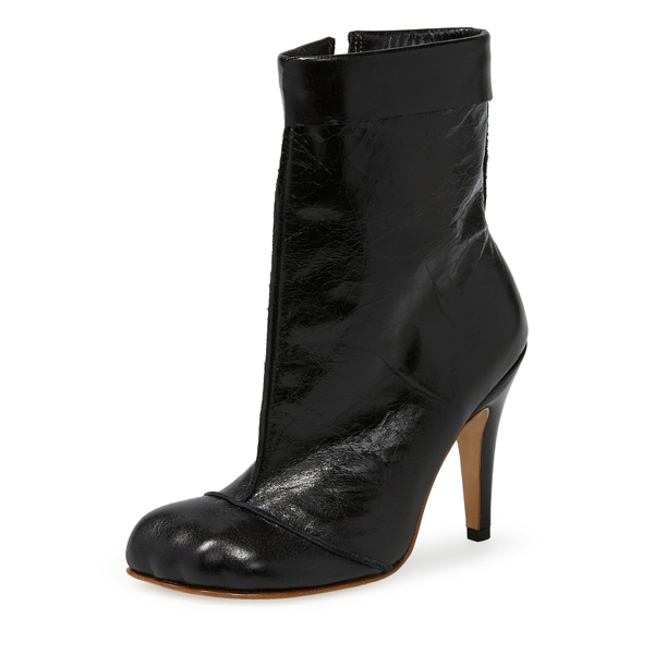 Women Vivienne Westwood BLACK ANIMAL CUFF BOOTS Outlet Online