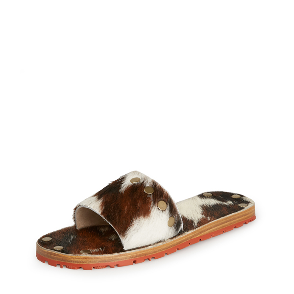 Women Vivienne Westwood WOMENS BACCHUS SLIDES BROWN/WHITE Outlet Online