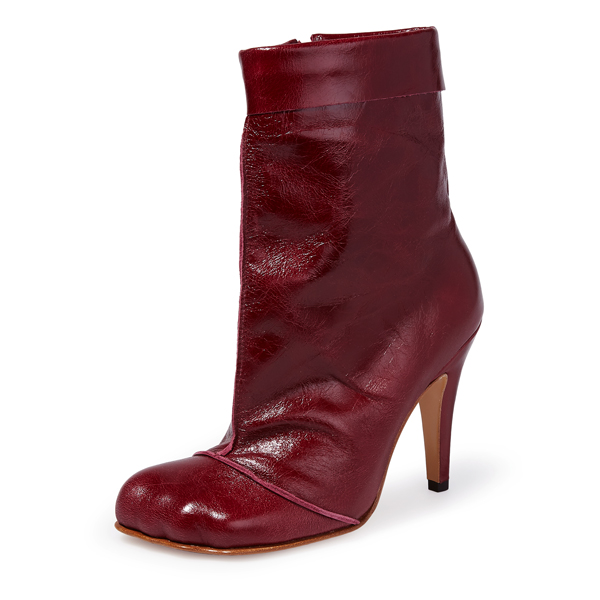 Women Vivienne Westwood SCARLET ANIMAL CUFF BOOTS Outlet Online