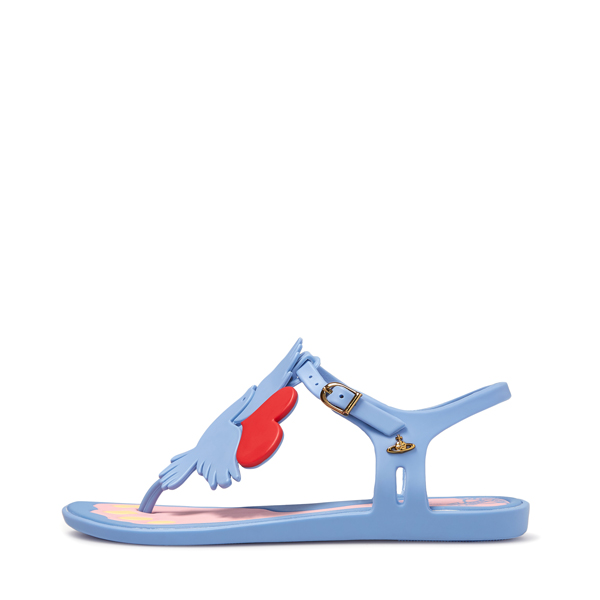 Women Vivienne Westwood SOLAR II LIGHT BLUE SANDALS Outlet Online