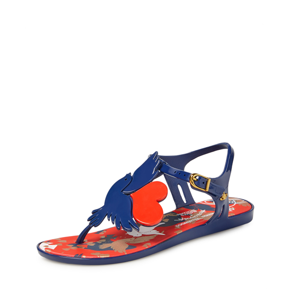 Women Vivienne Westwood SOLAR II BLUE SANDALS Outlet Online