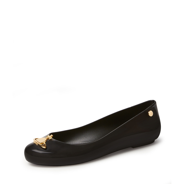 Women Vivienne Westwood SPACE LOVE BALLERINAS BLACK Outlet Online