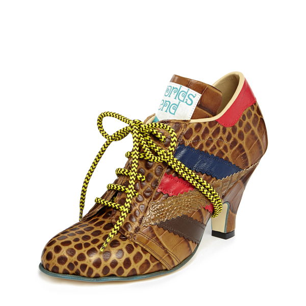 Women Vivienne Westwood TRACY TRAINER BROWN Outlet Online