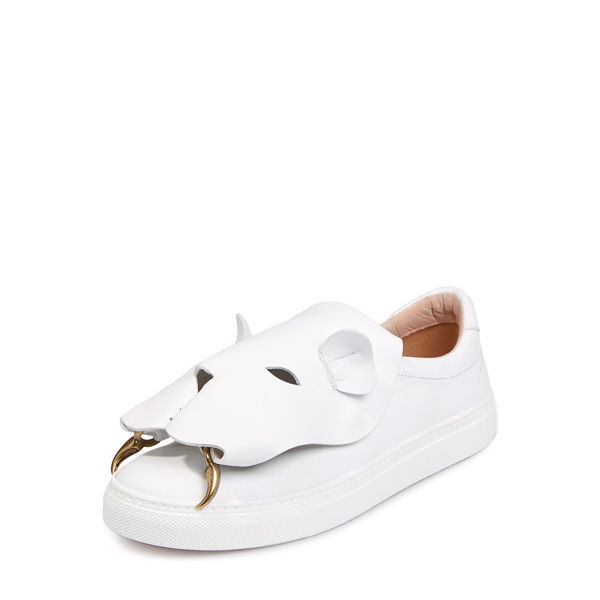 Women Vivienne Westwood WOMENS TIGER TRAINERS WHITE Outlet Online