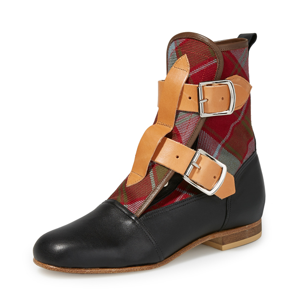 Women Vivienne Westwood TARTAN SEDITIONARIES BOOTS Outlet Online