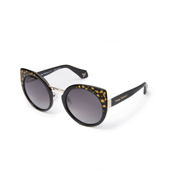 Women Vivienne Westwood STAR DUST SUNGLASSES BLACK VW932S01 Outlet Online