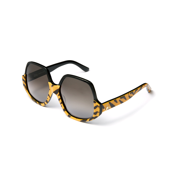 Women Vivienne Westwood TIGER REVERSED FRAME SUNGLASSES VW50105 Outlet Online