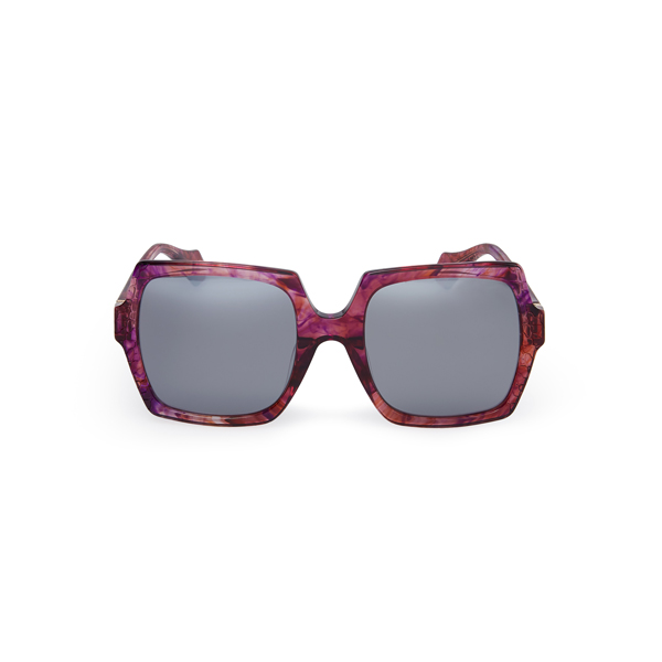 Women Vivienne Westwood BURGUNDY LASER CUT SUNGLASSES VW933S02 Outlet Online