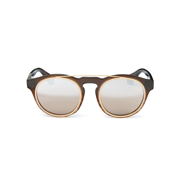 Women Vivienne Westwood OVERSTRUCTURED SUNGLASSES BROWN VW934S02 Outlet Online