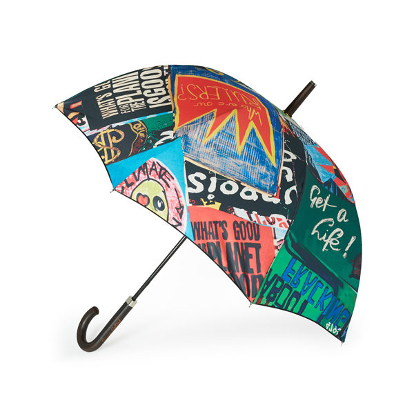 Women Vivienne Westwood PROTEST LONG UMBRELLA Outlet Online