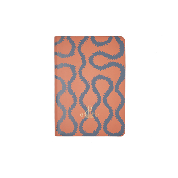 Women Vivienne Westwood A5 CORAL SQUIGGLE NOTEBOOK Outlet Online