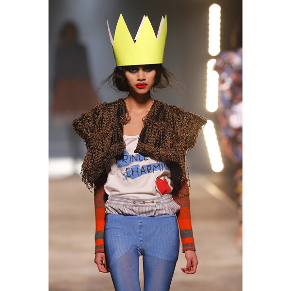 Women Vivienne Westwood CHILDS SQUARE PRINCE CHARMING T-SHIRT Outlet Online