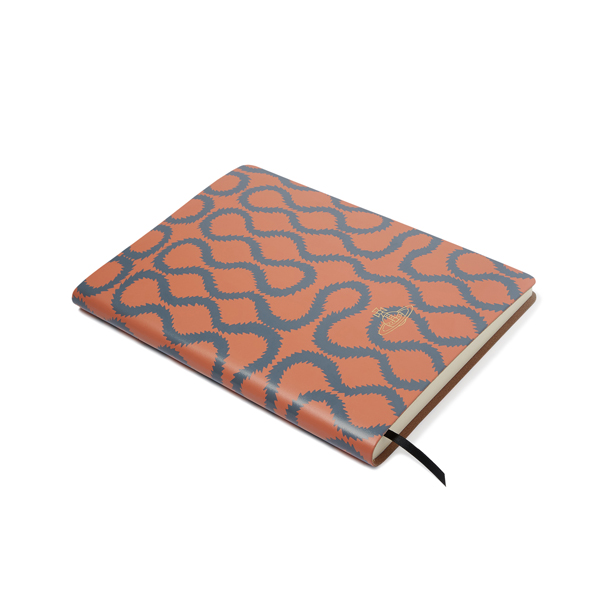Women Vivienne Westwood A4 CORAL SQUIGGLE NOTEBOOK Outlet Online
