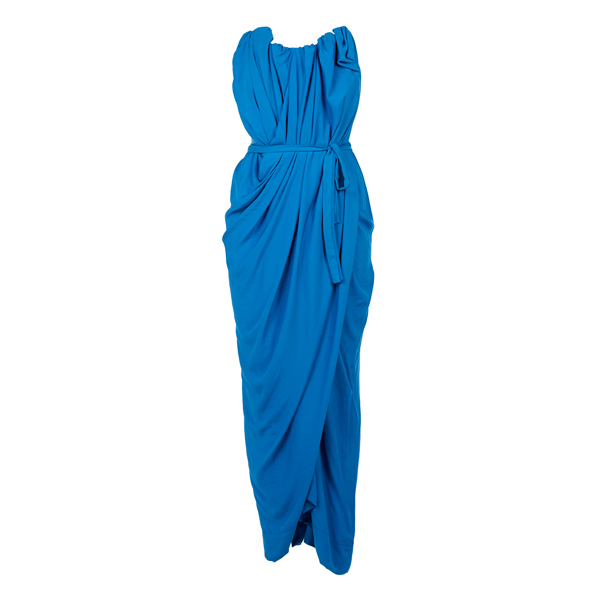 Women Vivienne Westwood SUSANNA DRESS COBALT BLUE Outlet Online