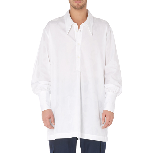 Women Vivienne Westwood NIGHT SHIRT WHITE Outlet Online