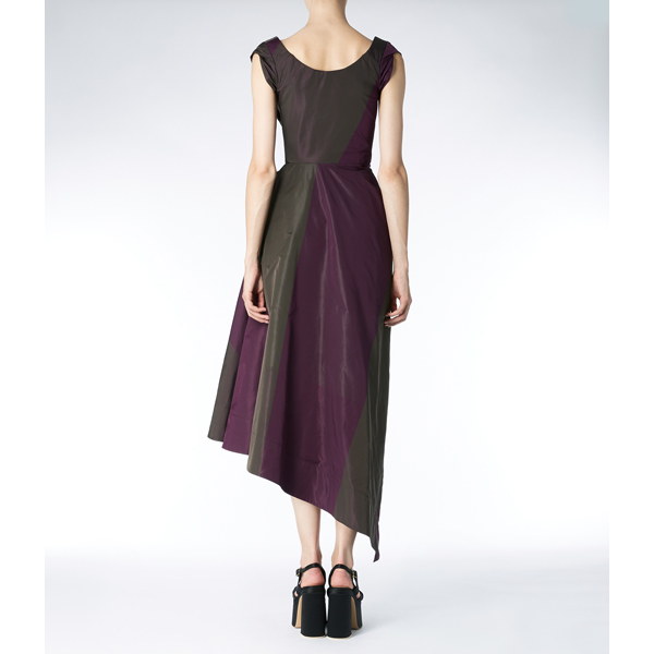 Women Vivienne Westwood DORA DRESS AUBERGINE Outlet Online