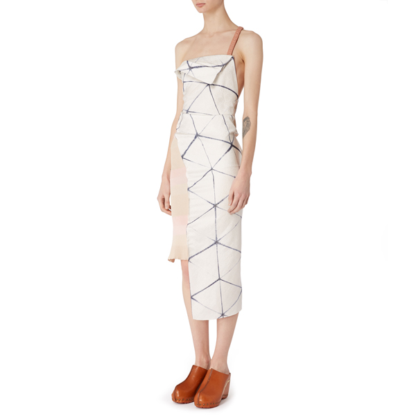 Women Vivienne Westwood RAZOR DRESS BLUE/WHITE Outlet Online