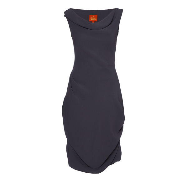 Women Vivienne Westwood AMBER PICNIC DRESS CHARCOAL Outlet Online
