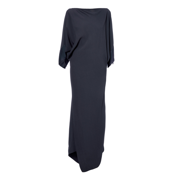 Women Vivienne Westwood LONG INFINITY DRESS CHARCOAL Outlet Online