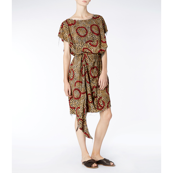 Women Vivienne Westwood LEOPARD BALLOON DRESS Outlet Online